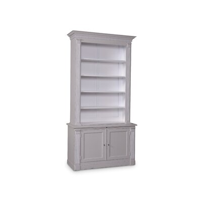 Craine 98 Standard Bookcase Finish: Vintage Blue/Grey
