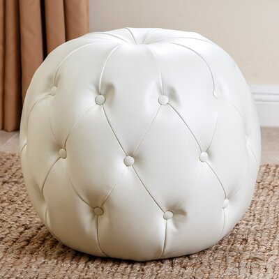 Lafond Leather Grand Ottoman