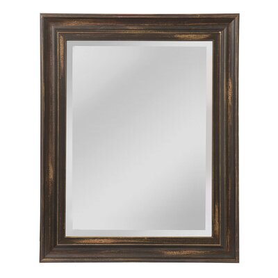 Borgen Wall Mirror Size: 38 H x 31 W x 1 D