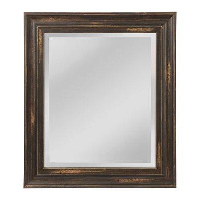 Borgen Wall Mirror Size: 32 H x 27 W x 1 D