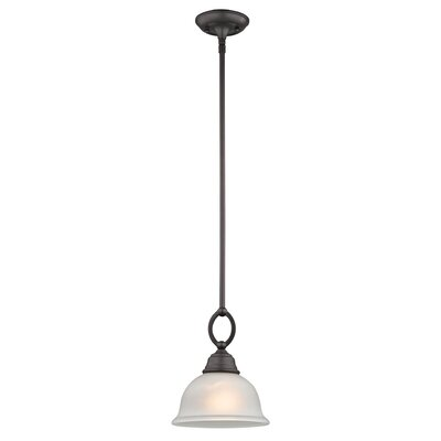 Halvorsen 1-Light Bowl Pendant Finish: Oil Rubbed Bronze