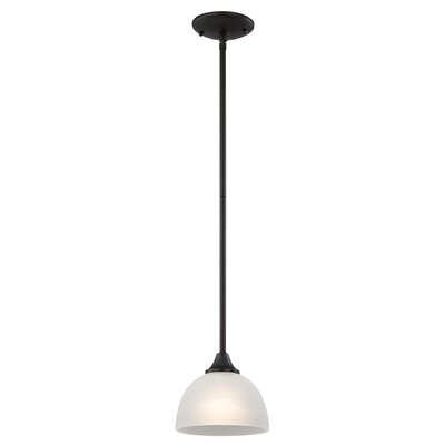 Gallimore 1-Light Mini Pendant Finish: Oil Rubbed Bronze