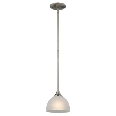 Gallimore 1-Light Mini Pendant Finish: Brushed Nickel