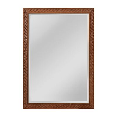 Engelbrecht Wall Mirror Size: 41 H x 29 W x 2 D