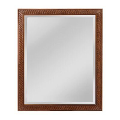 Engelbrecht Wall Mirror Size: 35 H x 29 W x 1 D