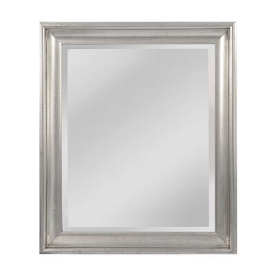 Almond Wall Mirror Size: 35 H x 27 W x 3 D
