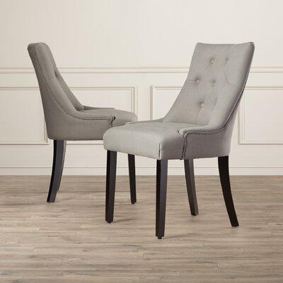 Wilkinson Side Chair Upholstery: Linen / Steel Grey