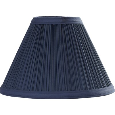10 Pleated Linen Empire Lamp Shade Color: Federal Blue