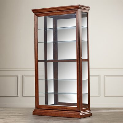 Purvoche Lighted Curio Cabinet