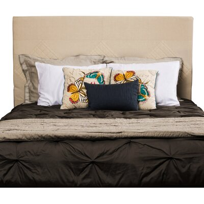 Robinette Upholstered Panel Headboard Size: Full/Queen