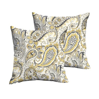 Agawam Outdoor Throw Pillow Size: 22 H x 22 W