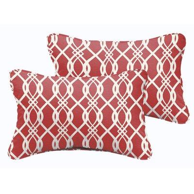 Byron Indoor/Outdoor Lumbar Pillow Size: 12 H x 24 W x 5 D