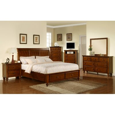 Lilian Storage Platform Configurable Bedroom Set Size: Queen