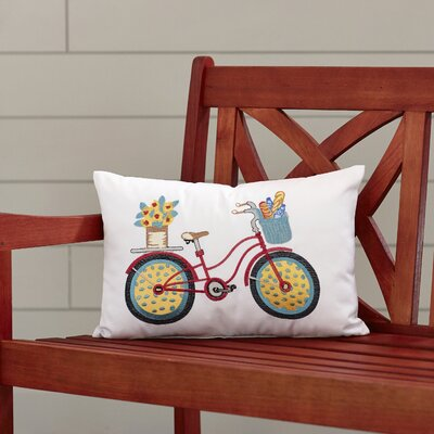 Guerrero Bicycle Outdoor Throw Pillow