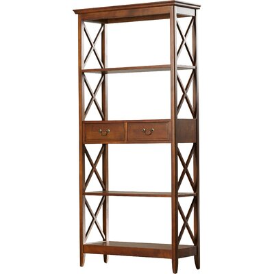 Clement Large 75 Etagere Bookcase