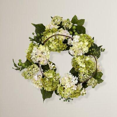 22 Hydrangea Wreath