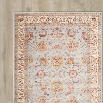 Enlow Silver / Ivory Area Rug