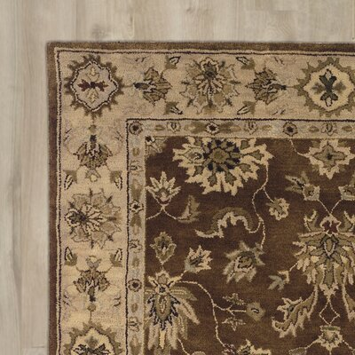 Westhoughton Hand-Tufted Brown Area Rug