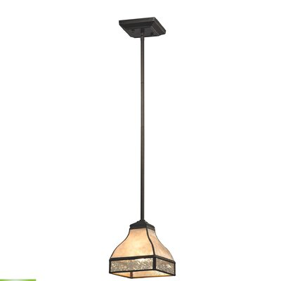 1-Light Mini Pendant Bulb Type: 9.5W LED