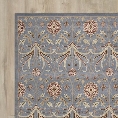 Carthage Hand-Tufted Light Blue Area Rug