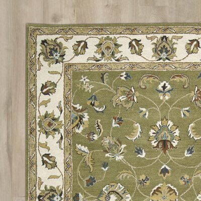Carthage Hand-Tufted Light Green Area Rug