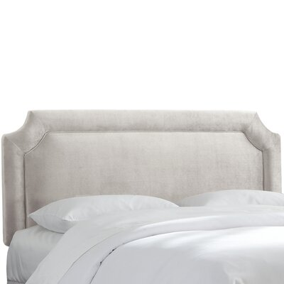 Arundel Upholstered Panel Headboard Size: Queen, Upholstery: Mystere Dove