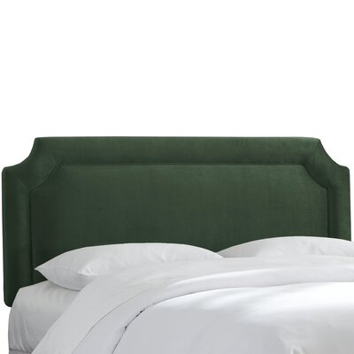 Arundel Upholstered Panel Headboard Size: Queen, Upholstery: Mystere Jade