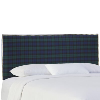 Albertine Upholstered Panel Headboard Size: King