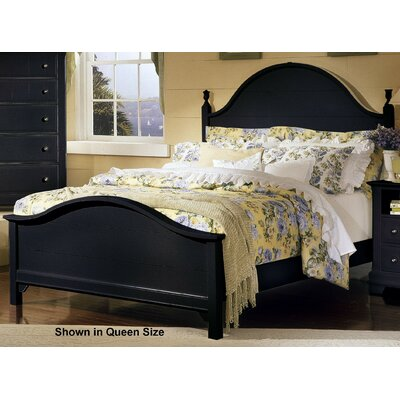 Marquardt Wood Headboard Finish: Black, Size: Full / Queen