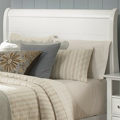 Marquardt Sleigh Headboard Size: King, Finish: Snow White