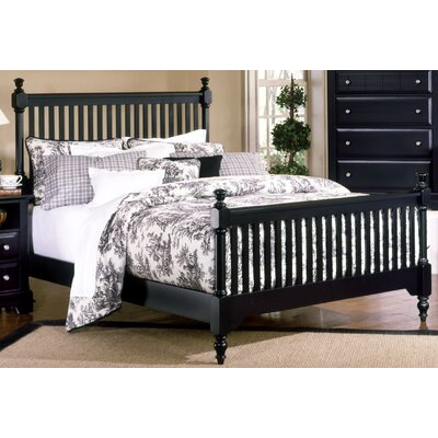 Marquardt Wood Frame Headboard Size: California King, Color: Black