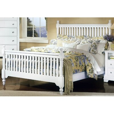 Marquardt Slat Headboard Size: King, Finish: Snow White