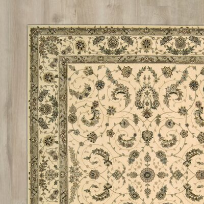 Hemming Hand-Tufted Ivory Area Rug