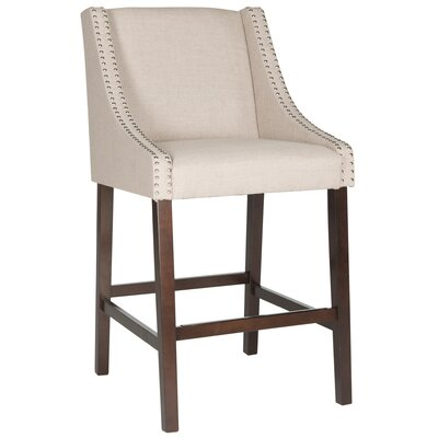 29.5 Bar Stool Upholstery: Taupe