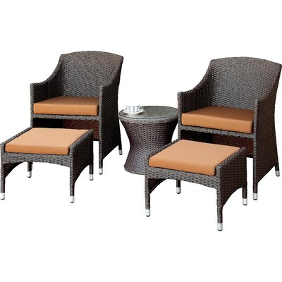 Darby Home Co Hagemann 5 Piece Lounge Seating Group