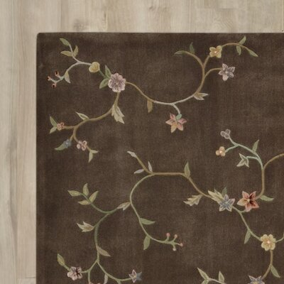 Thornsberry Hand-Tufted Brown Area Rug