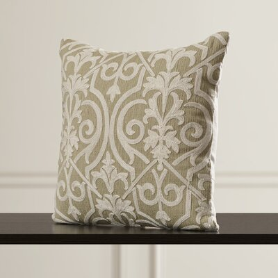Vandeventer Wool Throw Pillow Color: Light Green