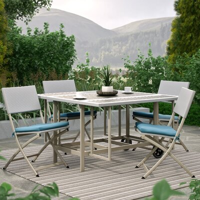 Timber 5 Piece Dining Set