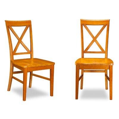 Oliver Side Chair Finish: Caramel Latte
