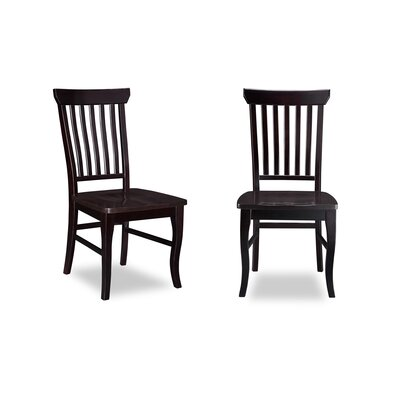 Oliver Solid Wood Dining Chair Finish: Espresso