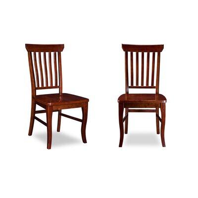 Oliver Side Chair Finish: Walnut