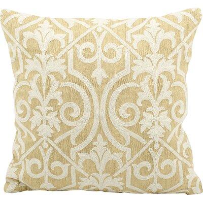 Vandeventer Wool Throw Pillow Color: Yellow