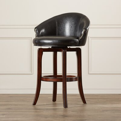 Kinmundy 30 Swivel Bar Stool with Cushion