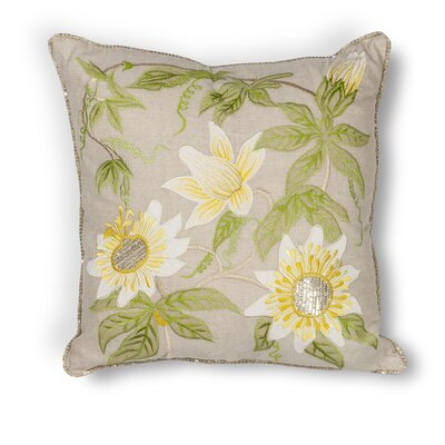 Adrian Sunflower Throw Pillow