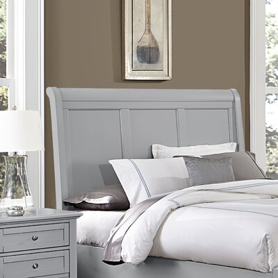 Gastelum Wood Sleigh Headboard Size: Queen, Color: Urban Gray