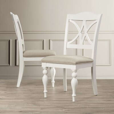 Gracehill Side Chair (Set of 2) Side Chair Finish: White