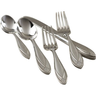 Alexandra Ice 5 Piece Flatware Set