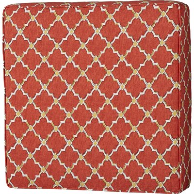 Maynes 22.5 Square Indoor/Outdoor Ottoman Cushion