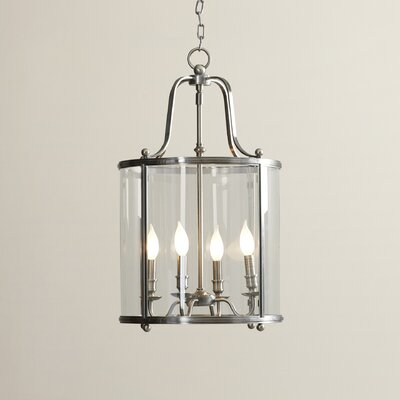 Walker 4-Light Hanging Foyer Pendant Finish: Antique Nickel
