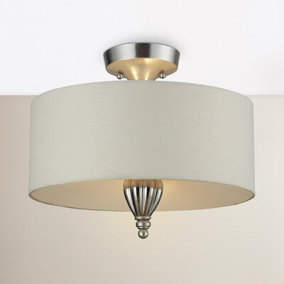 Gardenhire 2-Light Semi Flush Mount